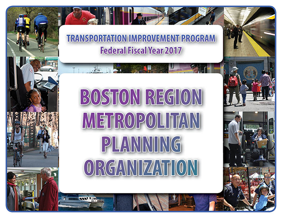 Transportation Improvement Program Federal Fiscal Year 2017 logo.